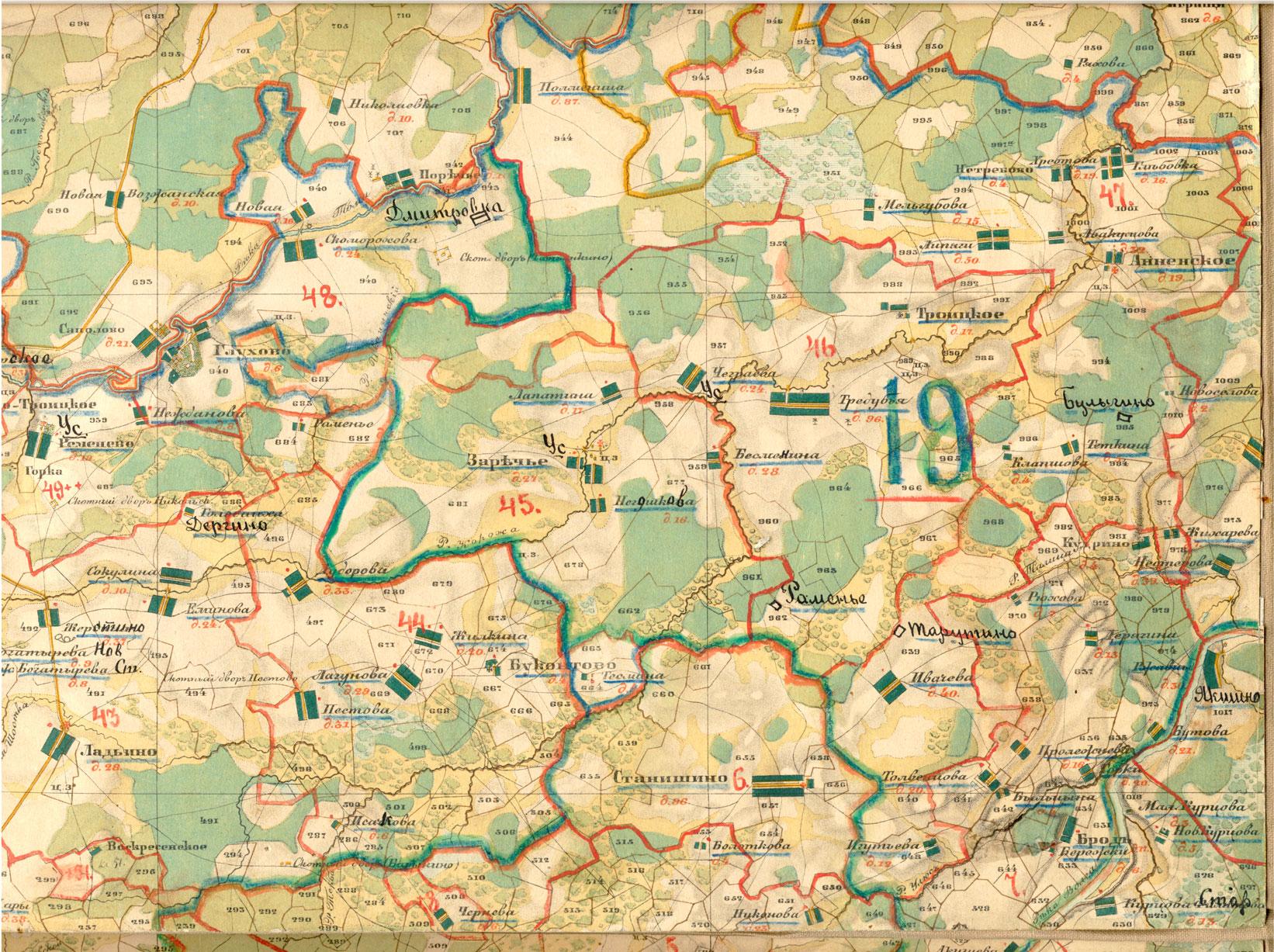 карта тверской области менде средство
